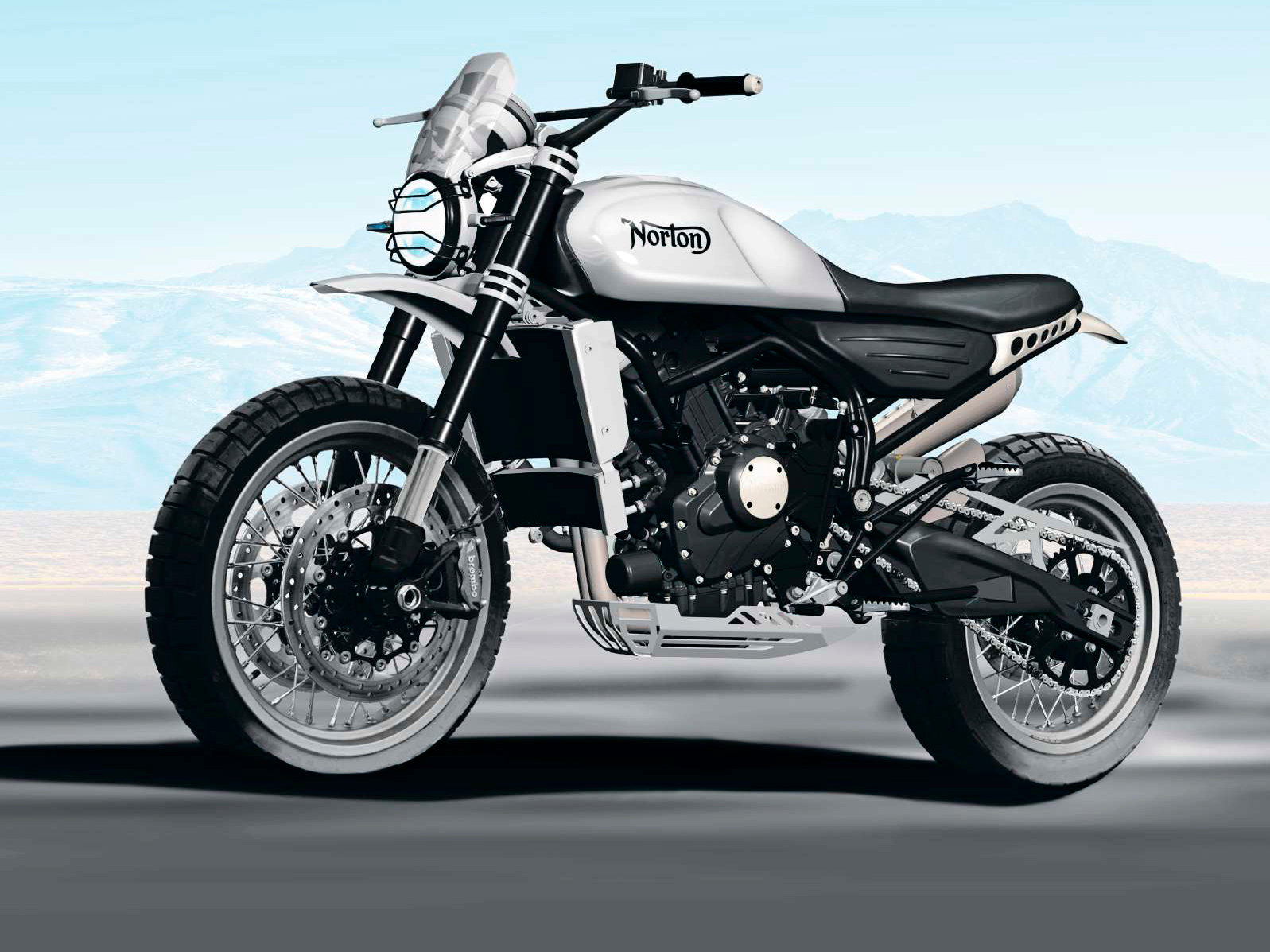 Norton Atlas 650 Scrambler