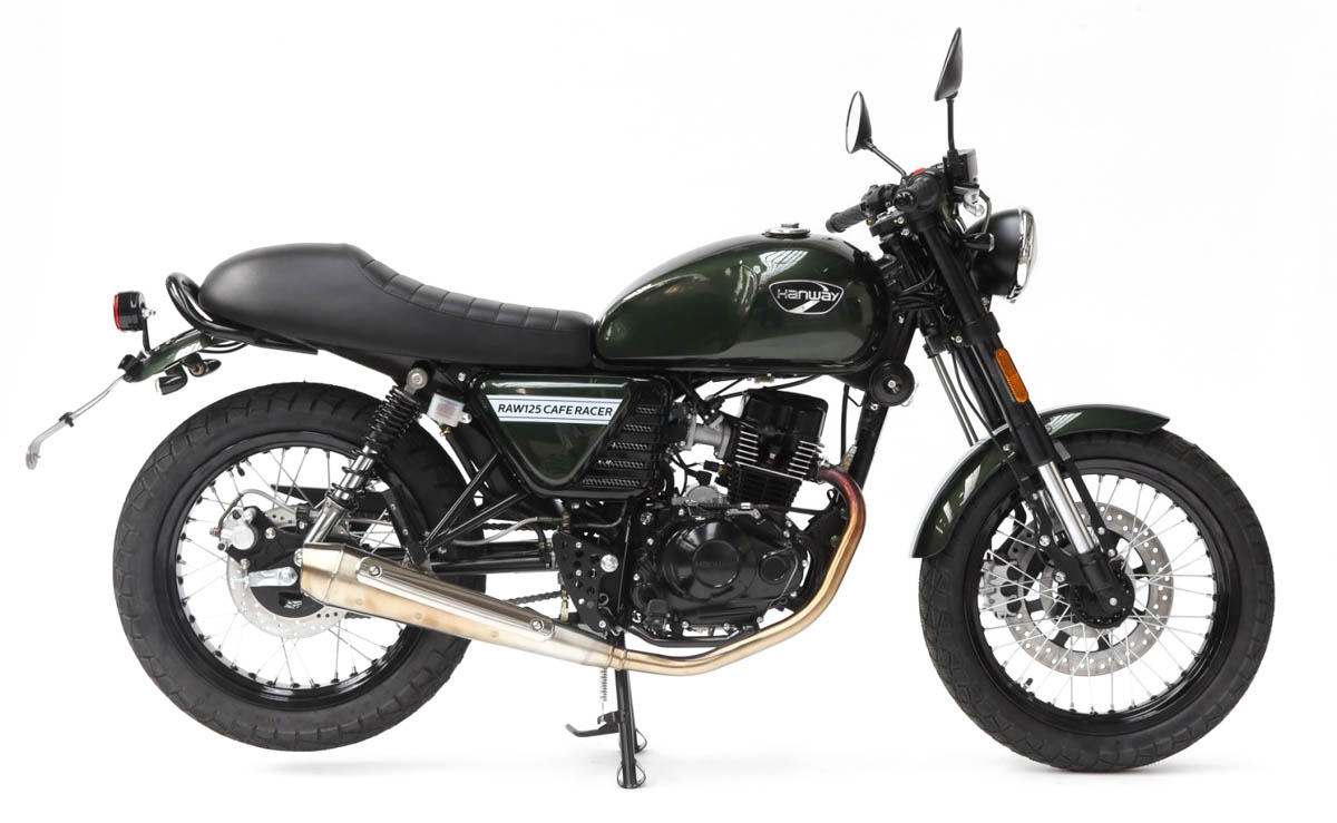 Hanway Raw 125 Cafe Racer cafe racer 125