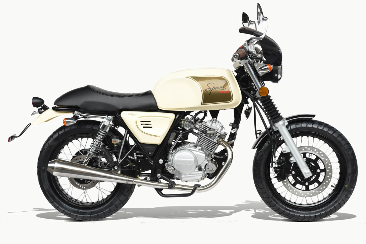 Orcal sprint 125 cafe racer 125