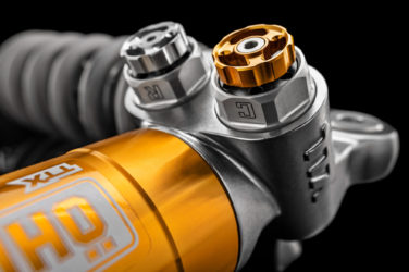 ohlins suspension rear shock